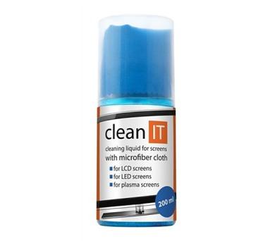 CLEAN IT CL-18 čistič LCD 200ml + utěrka