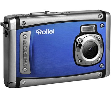 "Rollei Sportsline 80/ 8 MPix/ 8x zoom/ 2,4"" LCD/ Vodotěsný do 3 m/ FULL HD video/ Modrý"