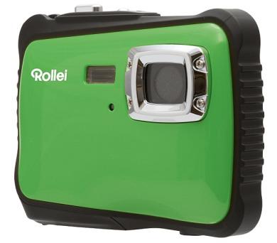"""Rollei Sportsline 64/ 5 MPix/ 2"""" LCD/ Voděodolný do 3m/ HD/ Brašna zdarma/ Zeleno-černý"""