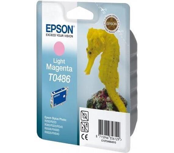 EPSON Ink ctrg Light Magenta RX500/RX600/R300/R200 T0486