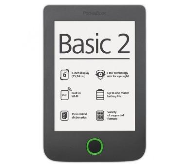 PocketBook 614+ Basic 3 Black (PB614W-2-E-WW)