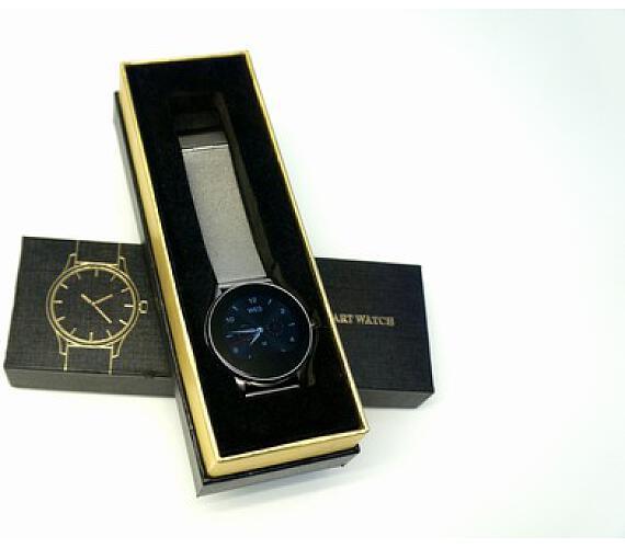 Manager - Smart hodinky Stříbrné + DOPRAVA ZDARMA