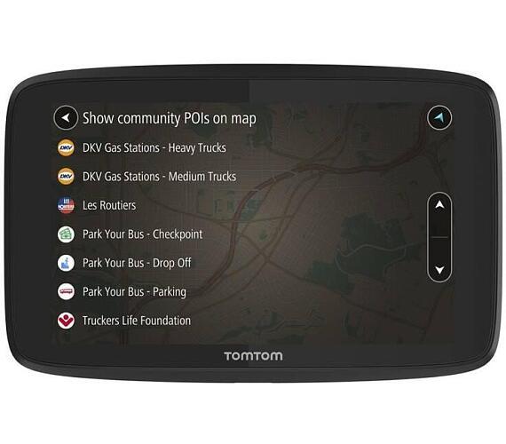 TomTom GO PROFESSIONAL 6200 - LIFETIME mapy s doživotní aktualizací map Evropy (1PL6.002.09)