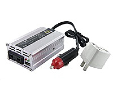 Whitenergy měnič napětí DC 12V-AC 230V 150W + USB + DOPRAVA ZDARMA