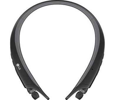 LG HBS-A80 Sportovní bezdrátová Stereo sluchátka černá + DOPRAVA ZDARMA