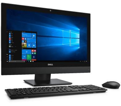 """Dell Optiplex 5250 AIO 21.5"""" FHD i5-7500/4G/500G/MCR/HDMI/DP/DVD RW/WLAN+BT/W10P/3RNBD/Černý"""