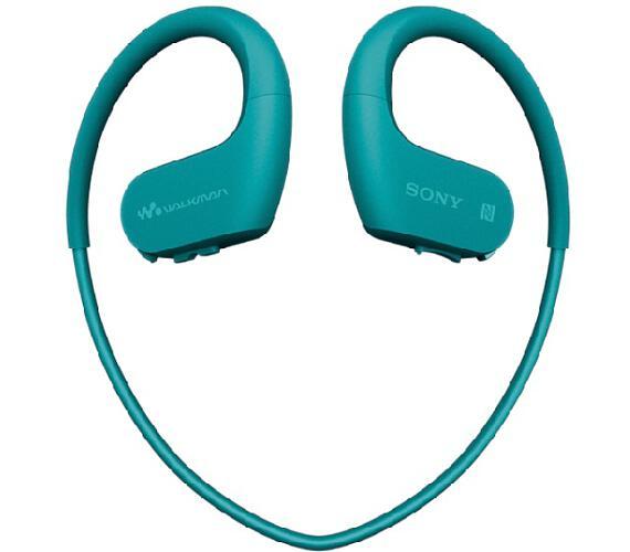 SONY NW-WS623 - Vodotěsný Walkman® odolný proti prachu s bezdrátovou technologií BLUETOOTH® - Blue (NWWS623L.CEW)