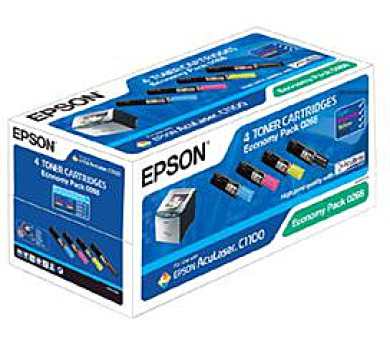 EPSON Toner čer+bar AcuLaser C1100/CX11 - CMYK + DOPRAVA ZDARMA