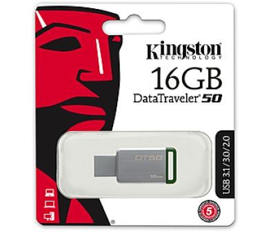 Kingston USB 3.0 DT50 pro potisk blistr