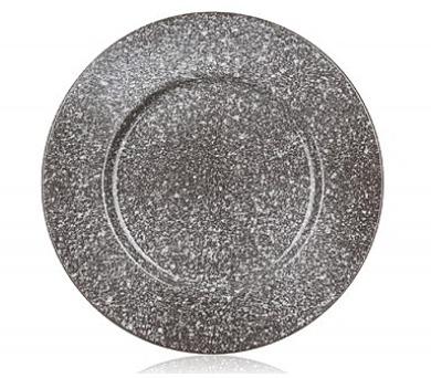 Talíř keramický mělký GRANITE 27 cm