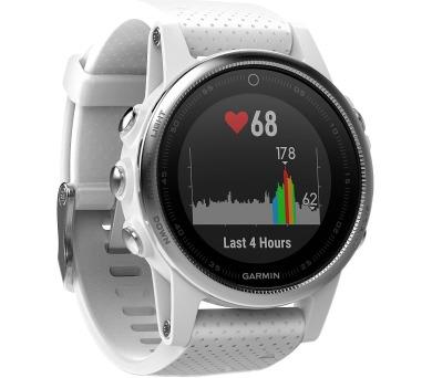 Garmin GPS sportovní hodinky fenix5S stříbrné + DOPRAVA ZDARMA