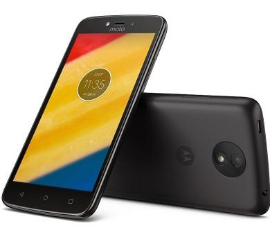"""Motorola Moto C Plus Dual SIM/5"""" IPS/1280x720/Quad-Core/1,3GHz/1GB/16GB/8Mpx/LTE/Android 7.0/Black"""