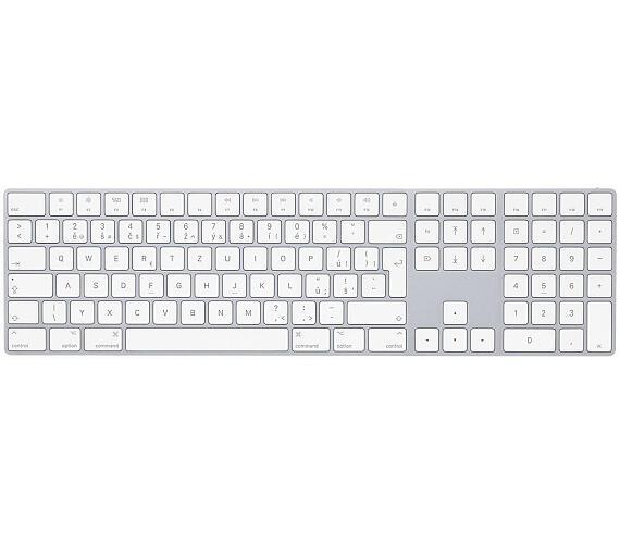 Apple Magic Keyboard s numerickou klávesnicí CZ (MQ052CZ/A) + DOPRAVA ZDARMA