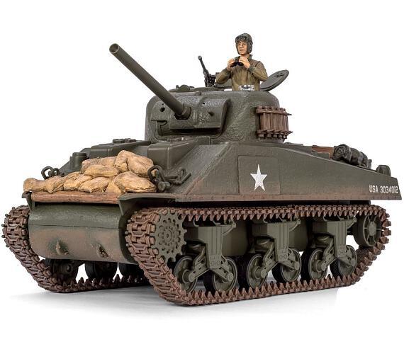 Pelikan RC Tank - M4A3 Sherman 1:24 + DOPRAVA ZDARMA
