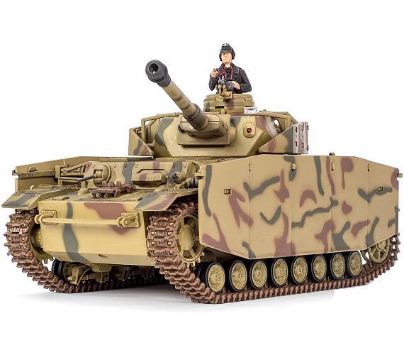 Pelikan RC Tank - Panzer IV 1:24 + DOPRAVA ZDARMA