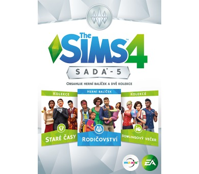PC CD - The Sims 4 bundle pack 5 - 22.6.