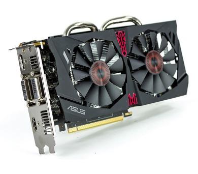 ASUS nVIDIA STRIX-GTX950-DC2OC-2GD5-GAMING / PCI-E / 2GB DDR5 / DVI / HDMI / DP / active