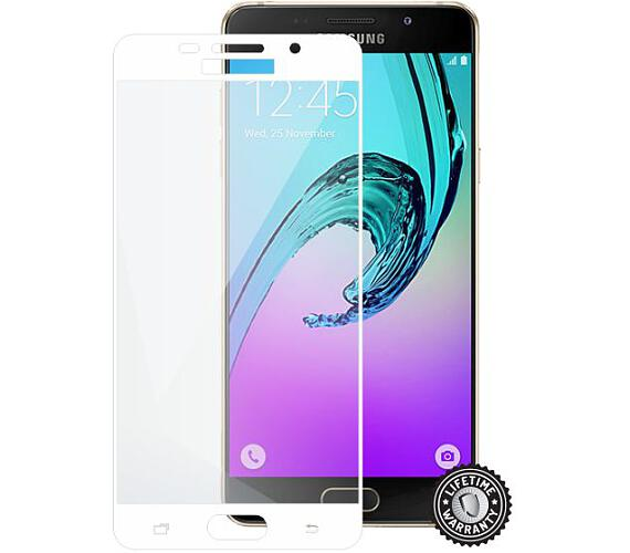 Screenshield™ Temperované sklo SAMSUNG A510 Galaxy A5 (2016) Tempered Glass protection (full COVER W (SAM-TGFCWMFA510F-D) + DOPRAVA ZDARMA