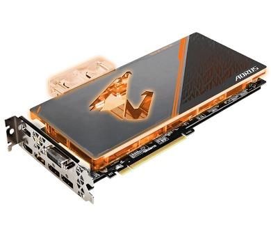 GIGABYTE VGA NVIDIA GTX 1080 Ti 11GB GDDR5X AORUS Waterforce Xtreme Edition (no fan)