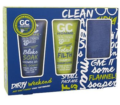 Pánská tělová kosmetika Grace Cole Homme Sport Dirty Weekend