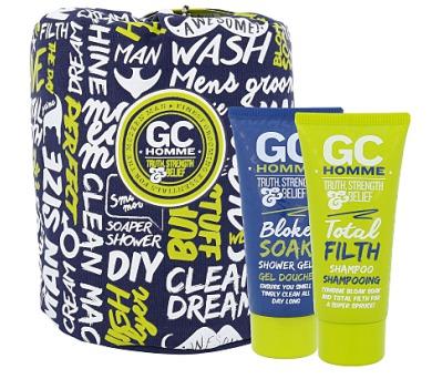 Pánská tělová kosmetika Grace Cole Homme Sport Happy Sack