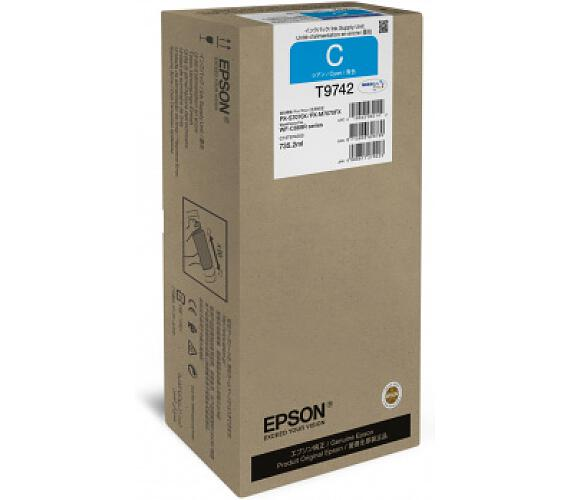 Epson WorkForce Pro WF-C869R Cyan XXL Ink (C13T974200) + DOPRAVA ZDARMA