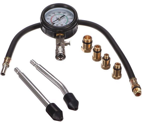 Tester tlaku benzínového motoru s manometrem GEKO