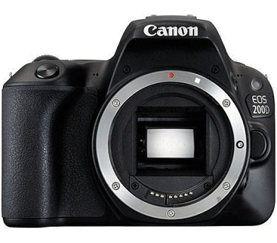 Canon EOS 200D Black BODY - 24.2 MP