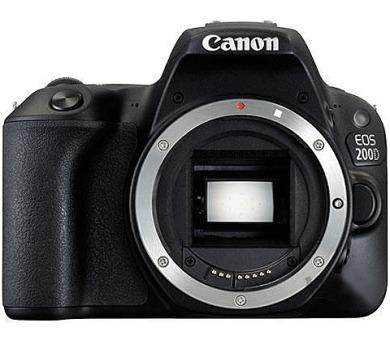 Canon EOS 200D BODY - 24.2 MP - černý