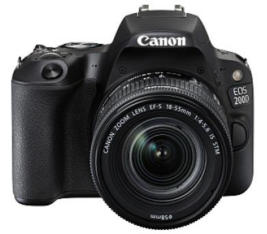 Canon EOS 200D Black + EF-S 18-55 f/4-5.6 IS STM SELEKCE SIP