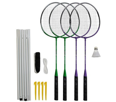 Badmintonový set 4x raketa Rulyt