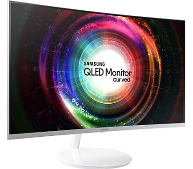 """Samsung LED LCD 27"""" C27H711 16:9 VA/2560x1440/4ms/300 cd/m2/HDMI/mDP/Quantum Dot/Prohnutý (LC27H711QEUXEN)"""