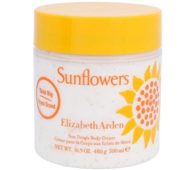 Tělový krém Elizabeth Arden Sunflowers