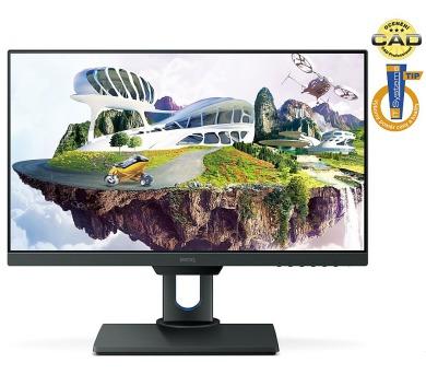 """BENQ 25"""" LED PD2500Q/ 2560x1440/ IPS panel/ 20M:1/ 4ms/ HDMI/ DP/ mDP/ USB hub/ LAN/ repro/ černý (9H.LG8LA.TSE)"""