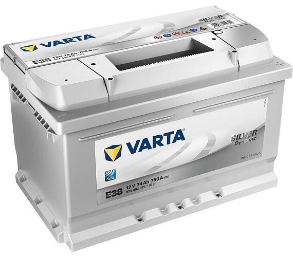 Varta Silver Dynamic 12V 74Ah 750A