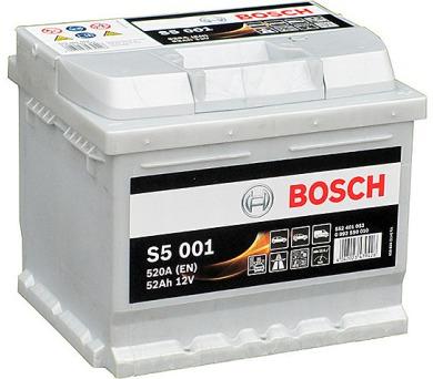 Bosch S5 12V 52Ah 0092S50010