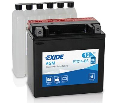 Exide 12V 12Ah ETX14-BS