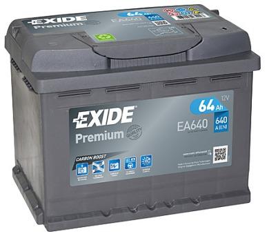 Exide 12V 64Ah EA640