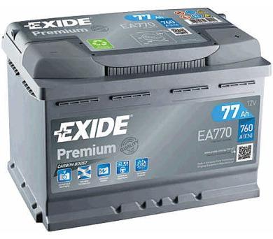 Exide 12V 77Ah EA770