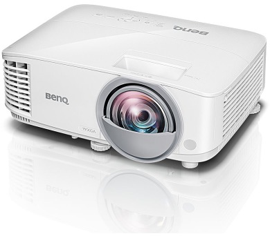 BenQ MW826ST WXGA/ DLP projektor/ 3400 ANSI/ 20000:1/ VGA/ 2x HDMI/ LAN