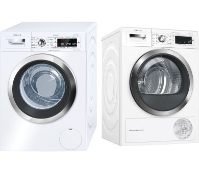 Bosch WAW32640EU + Sušička prádla Bosch WTW855H0BY + 10 let záruka na motor Bosch* + DOPRAVA ZDA
