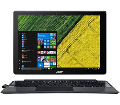 "Acer Switch 5 (SW512-52-543B) Core i5-7200U/ 8GB/256GB/12"" QHD 2160x1440 IPS Multi-touch LCD /HD Graphics /W10 Home (NT.LDSEC.001)"