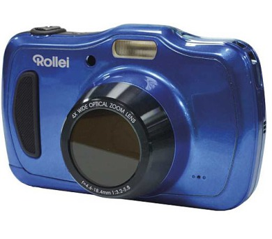 "Rollei Sportsline 100/ 20 MPix/ 4x zoom/ 2,7"" LCD/ Vodotěsný do 10 m/ HD video/ Modrý"