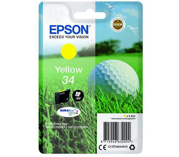 Epson Singlepack Yellow 34 DURABrite Ultra Ink