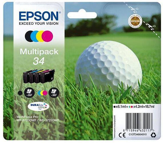 Epson Multipack 4-colours 34 DURABrite Ultra Ink + DOPRAVA ZDARMA