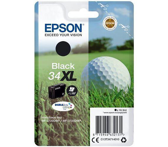 Epson Singlepack Black 34XL DURABrite Ultra Ink + DOPRAVA ZDARMA