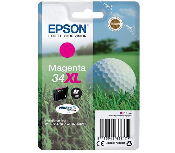 Epson Singlepack Magenta 34XL DURABrite Ultra Ink