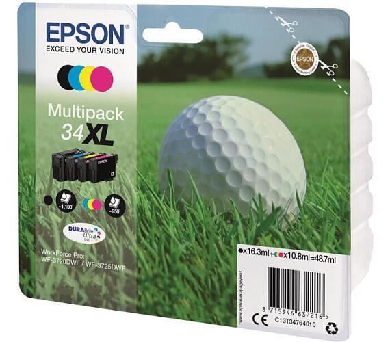 Epson Multipack 4-colours 34XL DURABrite Ultra Ink (C13T34764010) + DOPRAVA ZDARMA