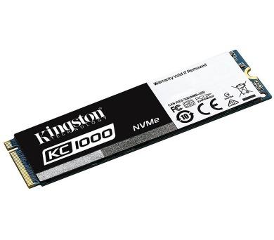 Kingston 240GB SSD disk KC1000 NVMe PCIe - M.2 version