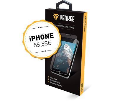 YPG NO07 ochr. sklo iPhone 5SE Yenkee